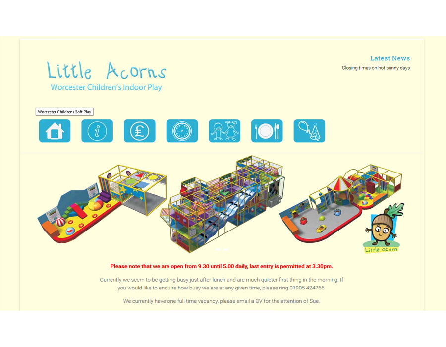 Little Acorns Soft Play Worcester