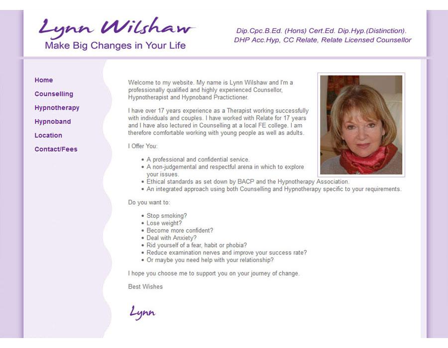 Lynn Wilshaw Hypnotherapy