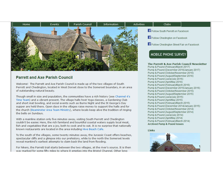 Parrett and Axe Parish Council